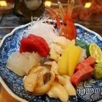 寿司竜 - お造り盛り合わせ