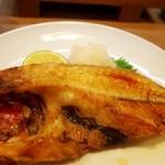 寿司竜 - キンキの塩焼き(骨付き)