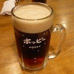 きくや - 黒生ホッピー480円