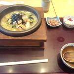 花ごよみ - 石焼海鮮おこげ鍋