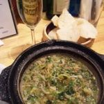 16962237 - おかわりのスパークリングと九条ねぎとシラスのオイル煮~!