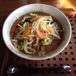 めん屋 佐介 - 野菜ラーメン