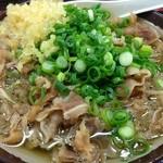 桜製麺 - 肉うどん(430円)