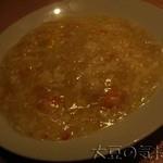 チャイナムーン - 蟹肉あんかけ玉子チャーハン(¥1,400)