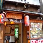 大阪家 - 2017年改装前の大阪家の入り口。昭和55年に作られた当時から全然変わっていませんでした。記念にこの写真を残しておきます。