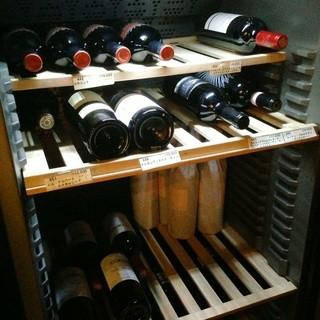 3つのワインセラー