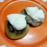 ふじや - 美味しい食べ方その2、焼き餅+ヨーグルト