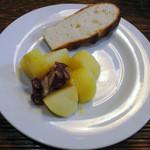 オステリア・ダ・クリハラ - ジャガイモとタコのオリーブソース