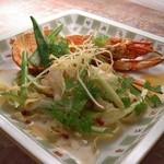 欧風懐石 勝 - カナダ産活オマールと夏野菜のロースト