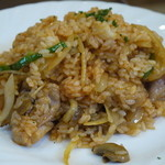 洋食の家 キャベツ - チキンライスセット800円
