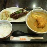 若鯱家 - 料理写真:カレーうどん定食