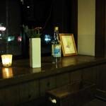 ファリーナ フレスカ - 自分たちのテーブル席から見える景色です