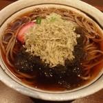 ふじ田 - 料理写真:利尻こんぶそば