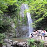 16973913 - 日本滝百選・箕面大滝。
