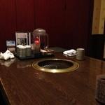焼肉の龍園 - 1階の個室