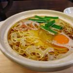 谷口食堂 - 鍋焼きラーメン 750円