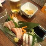 魚屋海老蔵 - 刺身3種盛り