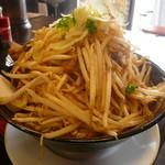 麺じろう - 焼肉ラーメン(野菜特盛り)700円
