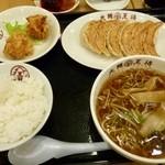 大阪王将 - 新!元祖焼餃子、ちょい盛り中華そば、鶏のからあ…