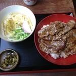 安芸若 - 和牛焼肉丼セット