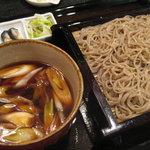 百承蕎麦 大和 - 鴨せいろ1,260円