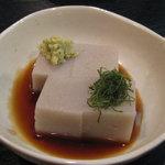 百承蕎麦 大和 - 蕎麦豆腐420円