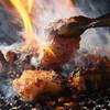 炭火焼ホルモン ぐう はなれ - 料理写真:備長炭でしっくりと・・・