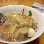 つちや食堂 - 中華丼