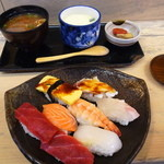 柳寿司 - 料理写真:にぎり定食630円