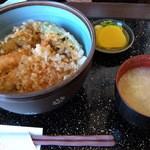 海仙 - 天丼(735円)
