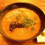 生目屋 - 地鶏入りあったか担担麺
