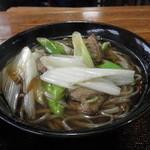 16984108 - 鴨そば 700円 (2012.11)