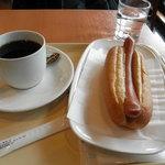 Dotorukohishoppu - ジャーマンドッグとブレンドコーヒー