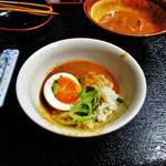 麺の里 家来 - 忍者飯/食べ方?