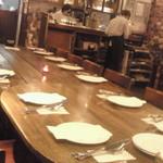 16989441 - 団体さんの予約テーブル