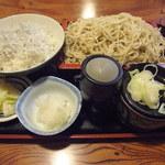 kabutochoumaruya - 釜揚しらす丼セット