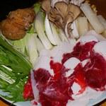 聚楽 創 - 熊鍋