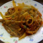 1699971 - 牛肉のピリ辛炒め