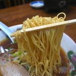 まつき食堂 - 細麺カタ茹で