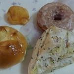 ルパ - ロータスジュリア コロコロおいも、オレンジドーナツ もちっとドーナツ2013/01