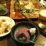 個室 いもんちゅ - H24/8、コース料理、デザート
