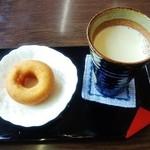 とうふ工房 分家 奈良屋 - とうふ工房 分家 奈良屋@湯本駅前店 豆腐ドーナッツ、豆乳