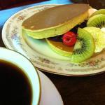 丸福珈琲店 - ホットケーキ