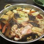 鍋ぞう - すき焼き鍋の様子