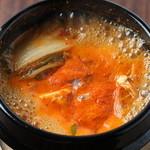南屋和牛堂 - 南屋名物スンドゥブチゲ(純豆腐チゲ)