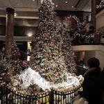 ウェスティン デリ - ロビーのクリスマスツリー2012。