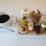 cafe West53rd - 珈琲と1皿目