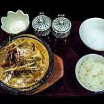 16999473 - 石焼担々麺のセット全体像