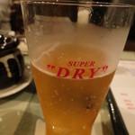 ベトナム料理専門店 サイゴン キムタン - 【再訪2】ビールはスーパードライでした