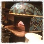 ワインバー ヌーバ - この釜で美味しすぎるクワトロを 焼いてもらいました(*´ω`*)